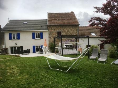 Gîte Allier - terrasse - barbecue